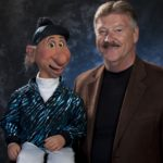 Louie and Ventriloquist Dale Brown