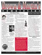 Brown and Martin Newsletter
