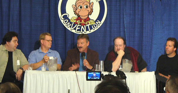 Dale on a Vent Panel at the Convention