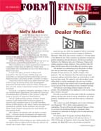 Form 2 Finish - Metalforms Corporate Newsletter