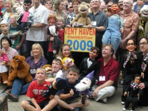 Ventriloquist Convention Group Photo from 2009